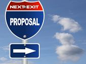 pic of propose  - Proposal road sign - JPG