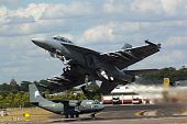 pic of f18  - Farnborough Airshow 2010  - JPG