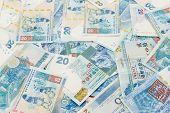 stock photo of twenty dollar bill  - Group of Twenty Hong Kong dollar - JPG