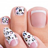 image of nail-design  - Beautiful woman - JPG
