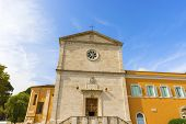 stock photo of crucifixion  - The Church of San Pietro in Montorio was built on the site of an earlier 9th - JPG