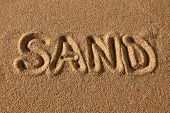 Постер, плакат: Песок