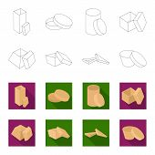 Case, Shell, Framework, And Other  Icon In Outline, Flet Style.box, Container, Package Icons In Set  poster