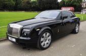 LONDON - SEPTEMBER 04: A Rolls-Royce Phantom Coupé at Chelsea AutoLegends, on September 04, 2011 in
