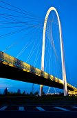 stock photo of calatrava  - famous Calatrava bridges in Reggio Emilia in northern Italy - JPG