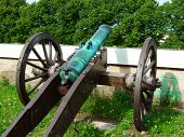 picture of abram  - Photo of an ancient gun illustration for military magazines - JPG