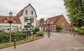 Idyllic Scenery In Greetsiel, A Idyllic Village Located In East Frisia, Northern Germany poster