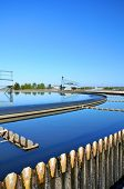 stock photo of wastewater  - Modern urban wastewater treatment plant - JPG