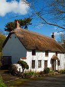 Thatched Cottage Church Cove Cornwall