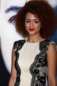 LOS ANGELES - MAR 18:  Nathalie Emmanuel arrives at