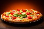 picture of champignons  - Pizza - JPG