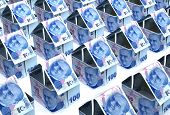 stock photo of turkish lira  - Real Estate Finance  - JPG