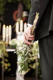 stock photo of urn funeral  - Religion - JPG
