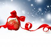 image of snow border  - Christmas - JPG