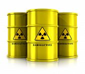 stock photo of radioactive  - Creative abstract nuclear power fuel manufacturing - JPG