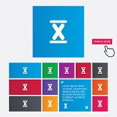 picture of roman numerals  - Roman numeral ten sign icon - JPG