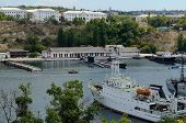 stock photo of sevastopol  - South Bay Sevastopol Crimea Ukraine  - JPG