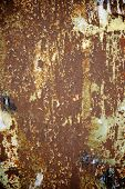 Rusty metal surface close up at high resolution