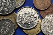 pic of lats  - Coins of Latvia - JPG