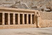 foto of hatshepsut  - The temple of Hatshepsut near Luxor in Egypt - JPG