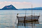 stock photo of batangas  - Taal Lake is a freshwater lake in the province of Batangas - JPG