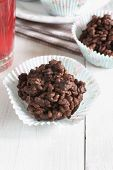 picture of crispy rice  - Chocolate covered crispy rice cakes a favorite children - JPG