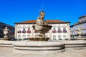 image of municipal  - The Braga Town Hall is a landmark building located in Braga Portugal - JPG