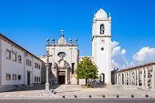 stock photo of domination  - The Cathedral of Aveiro also known as the Church of St - JPG