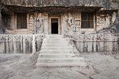 pic of ellora  - Ellora caves near Aurangabad Maharashtra state in India - JPG
