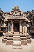 stock photo of ellora  - Ellora caves near Aurangabad Maharashtra state in India - JPG