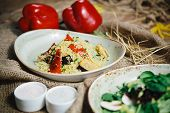 pic of quinoa  - Mexican Quinoa Salad with tomatoes - JPG