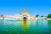 image of hindu temple  - Durgiana Temple is a premier Hindu temple of Punjab in Amritsar - JPG