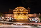 pic of palace  - Hawa Mahal palace  - JPG