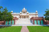 pic of mausoleum  - Jaswant Thada mausoleum in Jodhpur Rajasthan India - JPG