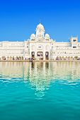 image of harmandir sahib  - Central Sikh Museum in Golden Temple in Amritsar - JPG