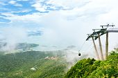 picture of langkawi  - View from the top observation deck of Langkawi Cable Car attraction Langkawi Island - JPG