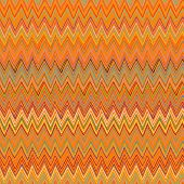 stock photo of bohemian  - Vector multicolor seamless pattern with zigzag lines in bohemian style and 1970s fashion motifs - JPG
