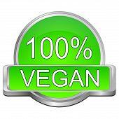 stock photo of vegan  - decorative green 100 - JPG