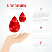 image of blood  - Donor Poster or Flyer - JPG