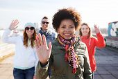 stock photo of waving hands  - people - JPG