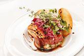 picture of tartar  - beef tartar - JPG