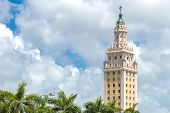 stock photo of freedom tower  - The Freedom Tower in Miami - JPG