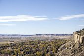 foto of beartooth  - west end of billings montana and the beartooth mountains - JPG