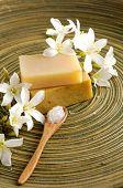 picture of gardenia  - gardenia flower with soap - JPG