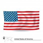 picture of south american flag  - Flag of United States of America  - JPG