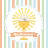 picture of christening  - first communion design - JPG