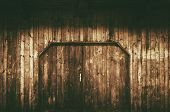 picture of barn house  - Old Wooden Gate with Doors - JPG