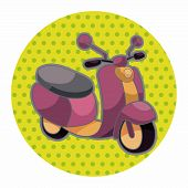pic of vespa  - Transportation Motor Theme Elements - JPG