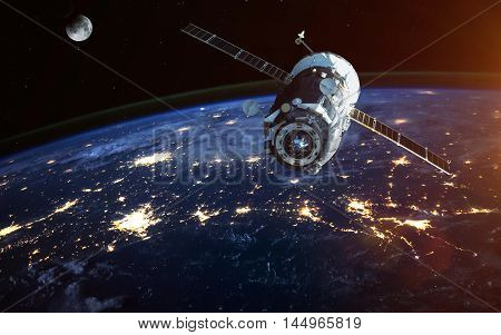 Spacecraft Launch Into