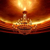 stock photo of flambeau  - chandelier - JPG